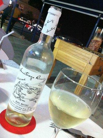 "Restaurante oxila: Un rico albariño ""Santiago Ruiz"""