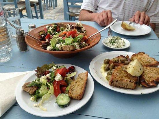 Taverna Knossos: lunch