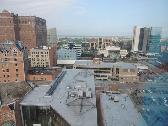 Hyatt Regency Buffalo: View from Room 243