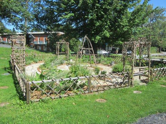 Ile de Garde: On site Herb Garden