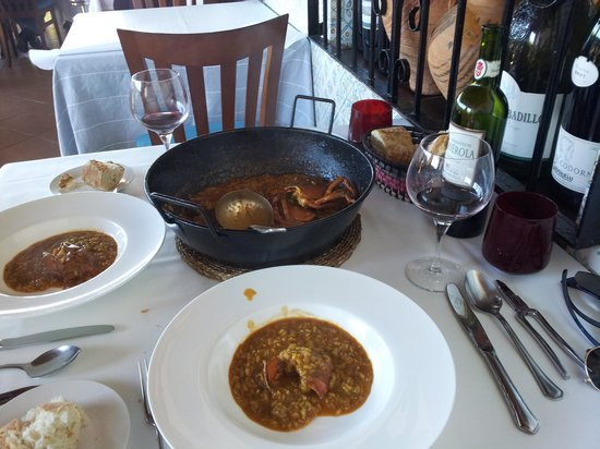Restaurante Can Roig : Arroz con bogavante