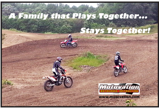 Millville, Νιού Τζέρσεϊ: Family based motocross lesson.