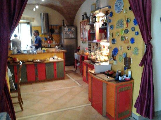 Casale Gregoriano: Desayuno, jamon, bruschetta, genial
