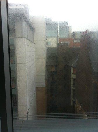 Radisson Blu Hotel, Glasgow: filthy window