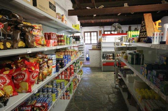 Camping Village l'Ostriconi : mini market