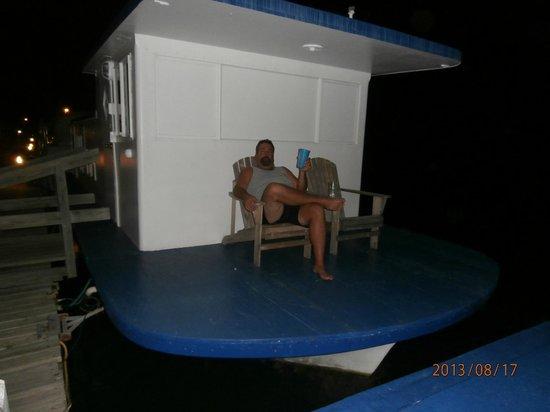 Sea Cove Motel and Marina: Peace and quiet