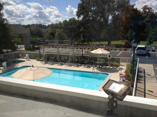 Hilton Garden Inn Gainesville: View from floor 2