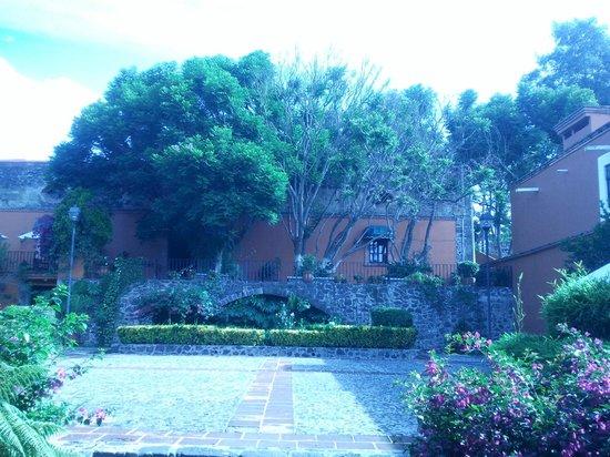 Mision Tlaxcala: Hotel y alrededores