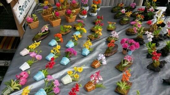 Bophut Walking Street: ดอกไม้สวยๆถูกมาก
