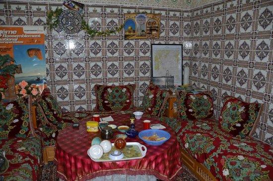 Auberge Mzik : Dining Area