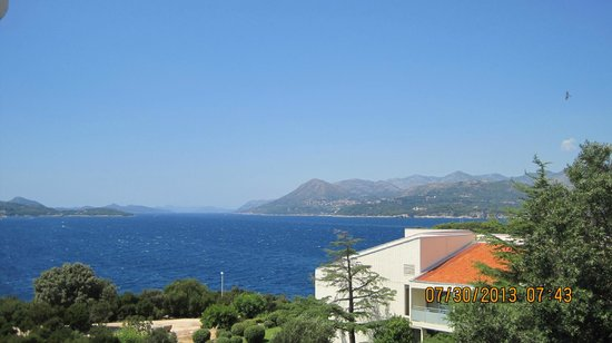Valamar Argosy Hotel: View from side of balcony