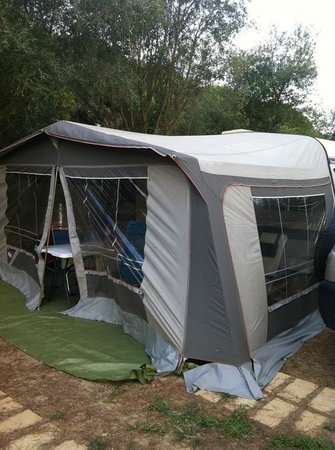 Camping Pinar San Jose: El avance de nuestra caravana