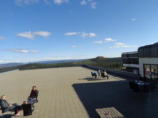 Storefjell Resort Hotel: La terrazza