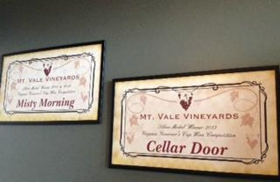 Mt Vale Vineyards: Recent Awards
