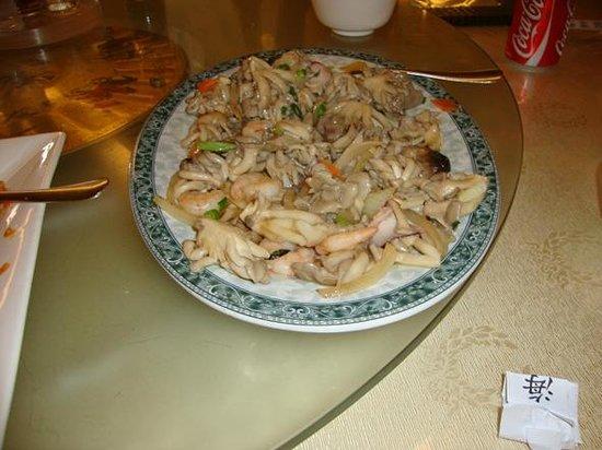 Chi-Fu: Shitake com frutos do mar (já bastante acessado)