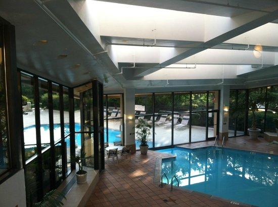Marriott Nashville Airport: indoor part of pool