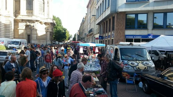 La Grande Braderie de Lille: Het is er wel druk