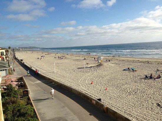 Blue Sea Beach Hotel : Vista dalla camera...