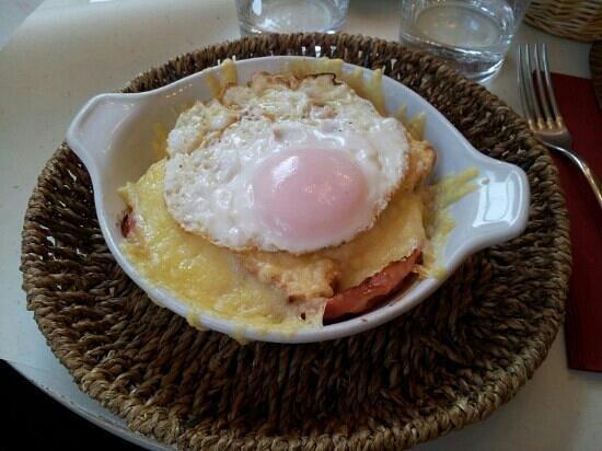 Omelette & Baguette : Croque madame