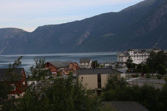 Eidfjord Fjell & Fjord Hotel: Blick von der Frühstücksterrasse