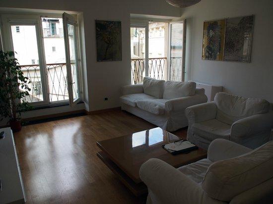 Locanda di Palazzo Cicala: Sitting room