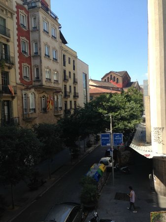 Hotel Ciutat Vella: View from balcony