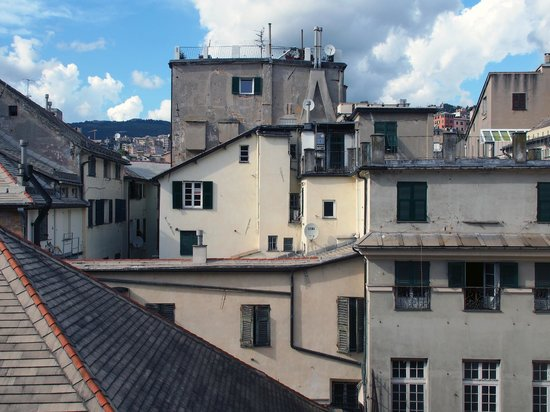 Locanda di Palazzo Cicala: View from the sitting room
