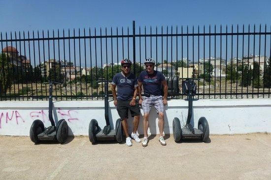 Athens Segway Tours: friends