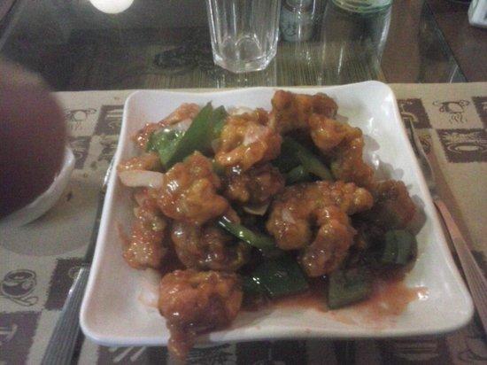 Lai Lai : Pollo adobado con salsa agridulce