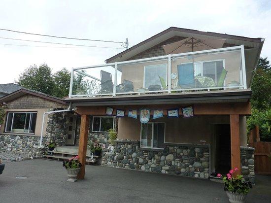 Beachway B&B Suites: Suite with ocean view - gepflegtes Appartm.mit Balkon zur Ozeanseite