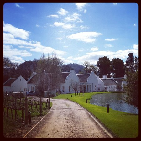 Holden Manz Country House: The manor house - beautiful!
