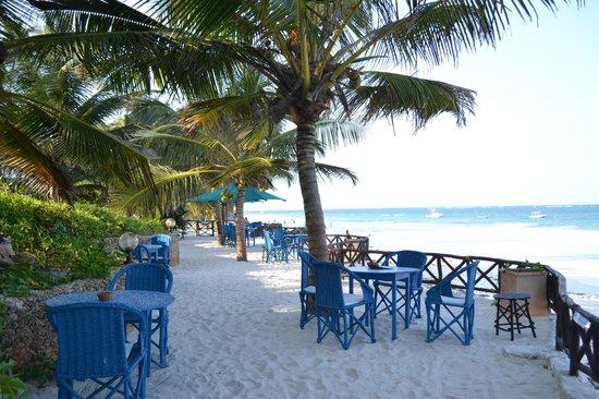 Diani Blue : terrazza con vista mare