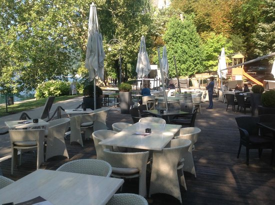 Vila Preseren: Restaurant area