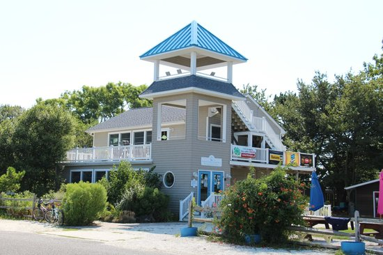 Nature Center of Cape May: Main building with observation tower and gift shop