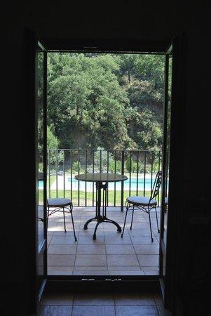 La Posada de San Marcos: uitzicht vanuit onze kamer