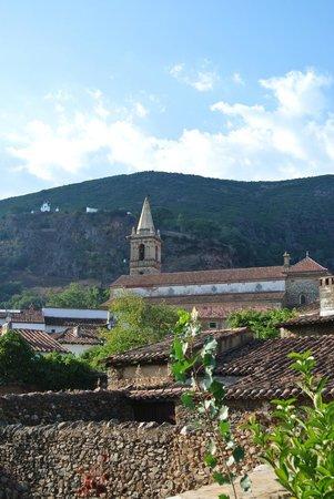 La Posada de San Marcos: uitzicht op het dorpje Alajar