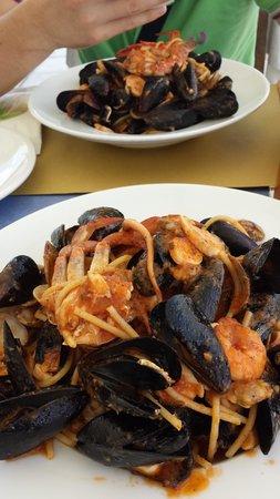nuovo bar ristorante apollo: Spaghetto allo Scoglio :)