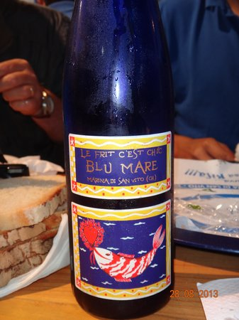 Blu Mare Gastropescheria : vino