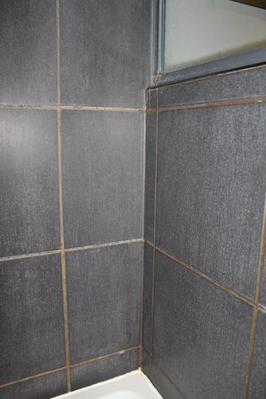 DoubleTree by Hilton Bristol South - Cadbury House: Dusche - einfach nur grauslich