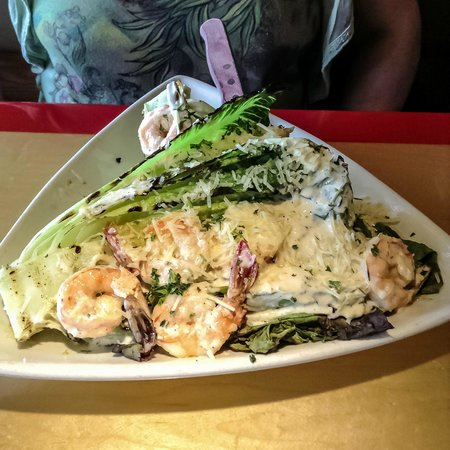 Woody's Diner: Shrimp Caesar Salad
