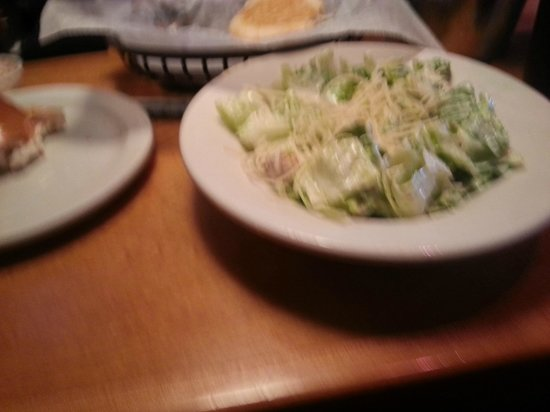 Texas Roadhouse: salad