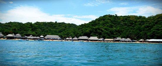 La Isla Huatulco & Beach Club: Bahia La Entrega, puedes llegar en Taxi desde el Hotel