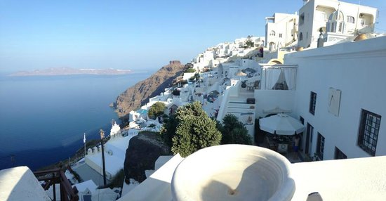 The Tsitouras Collection Hotel : View of Fira