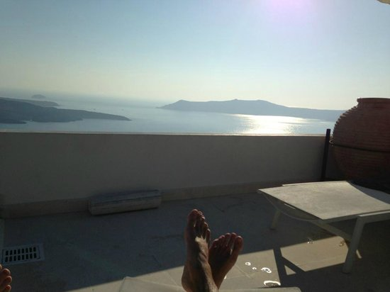 The Tsitouras Collection Hotel : The best view from the pool