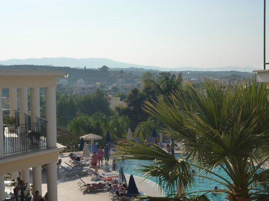 Zante Star: view from the hotel