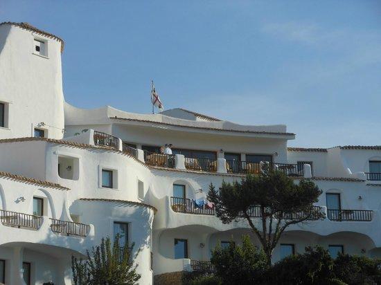 Hotel Luci di La Muntagna : la terrazza della colazione epranzi