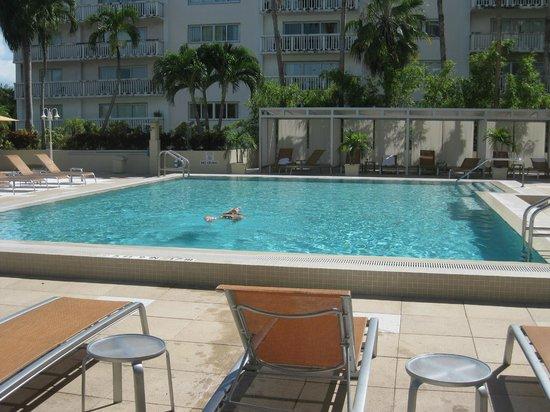 Courtyard Miami Coconut Grove: Piscine