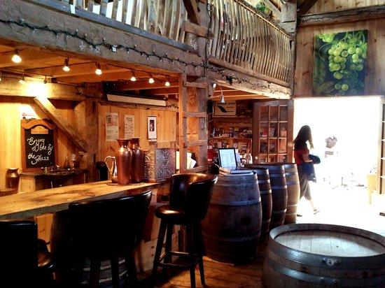 Bar in the barn