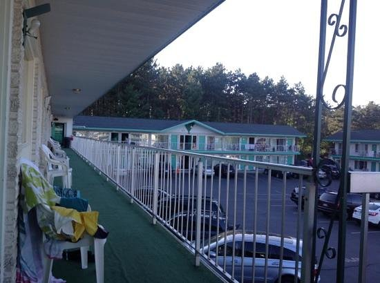 Shamrock Motel Resort & Suites : 2nd floor