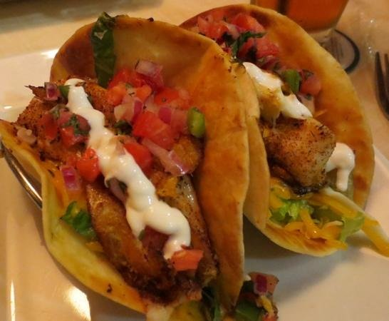 What went wrong with ruby tuesdays review of ruby for Spicy fish tacos